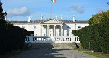 Áras an Uachtaráin, home of the President of Ireland