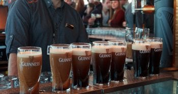 Pint of Guinness at the Guinness Storehouse, Dublin